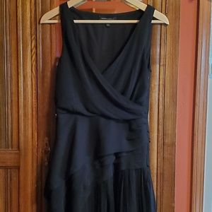 Banana Republic Pleated V Dress